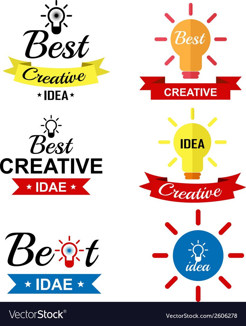 Best creative idea vintage retro type font vector image