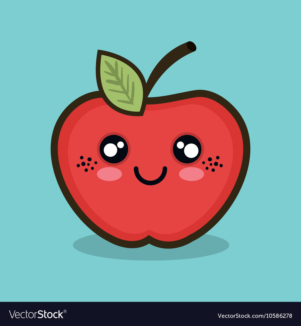 Apple Fruit Cartoon Pictures