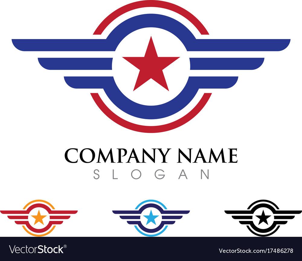 Wing logo icon