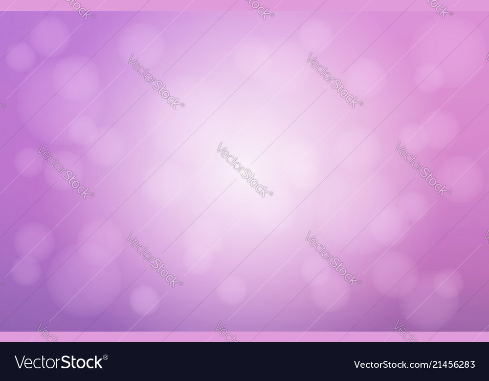 Pale purple white blurred background with bokeh