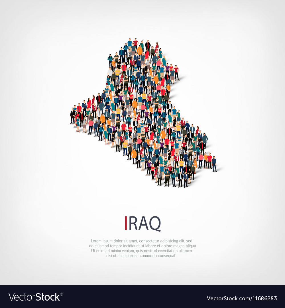 People map country iraq royalty free vector image people map country iraq vector image gumiabroncs Images