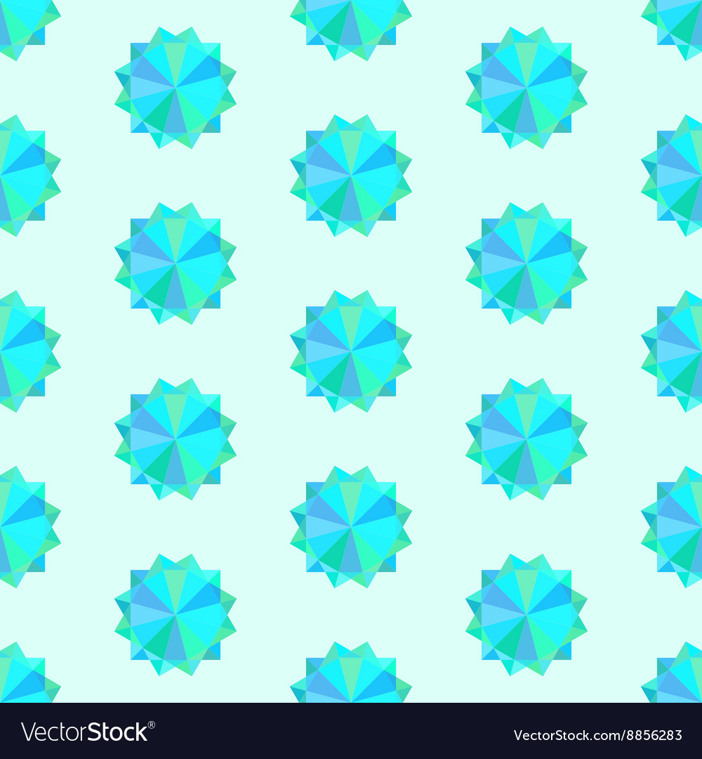 Seamless texture with geometric ornament