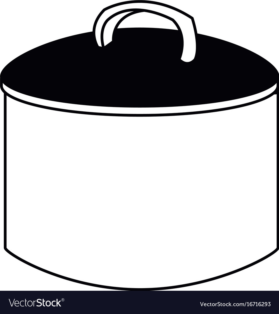 Cooking pot with metal lid utensil