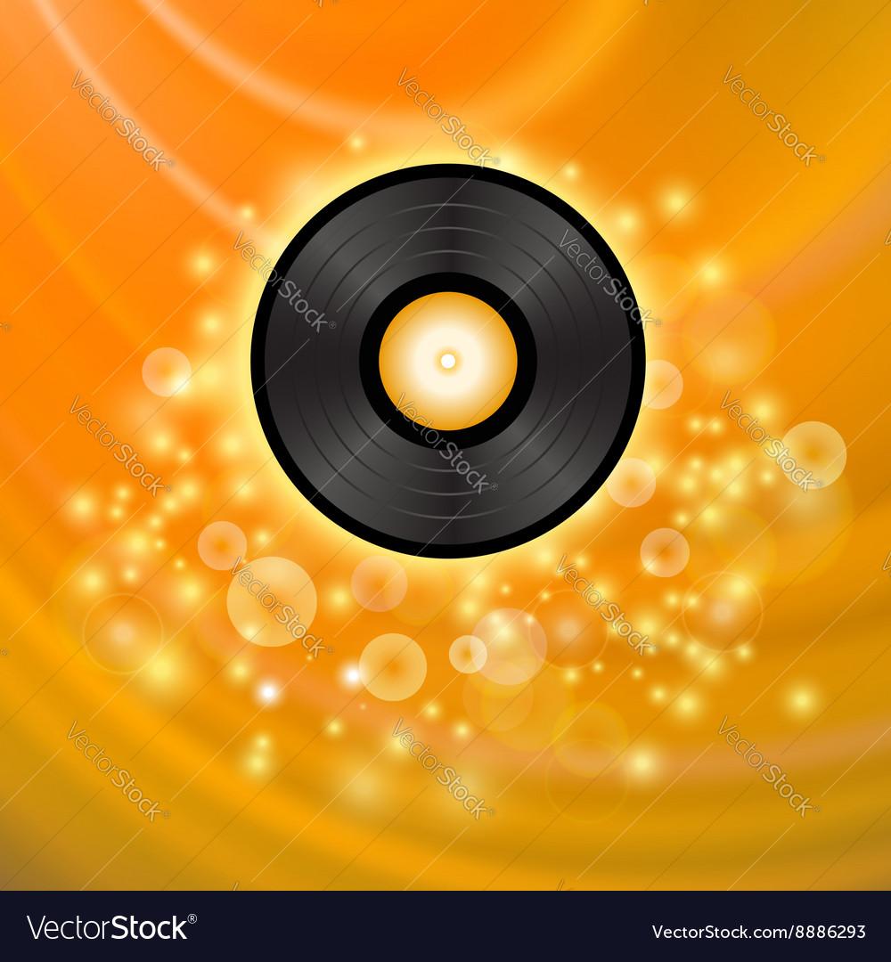 Retro Vinyl Disc