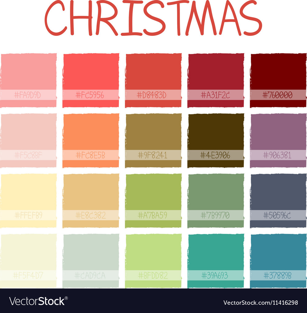 Christmas Colorful Color Tone with Code