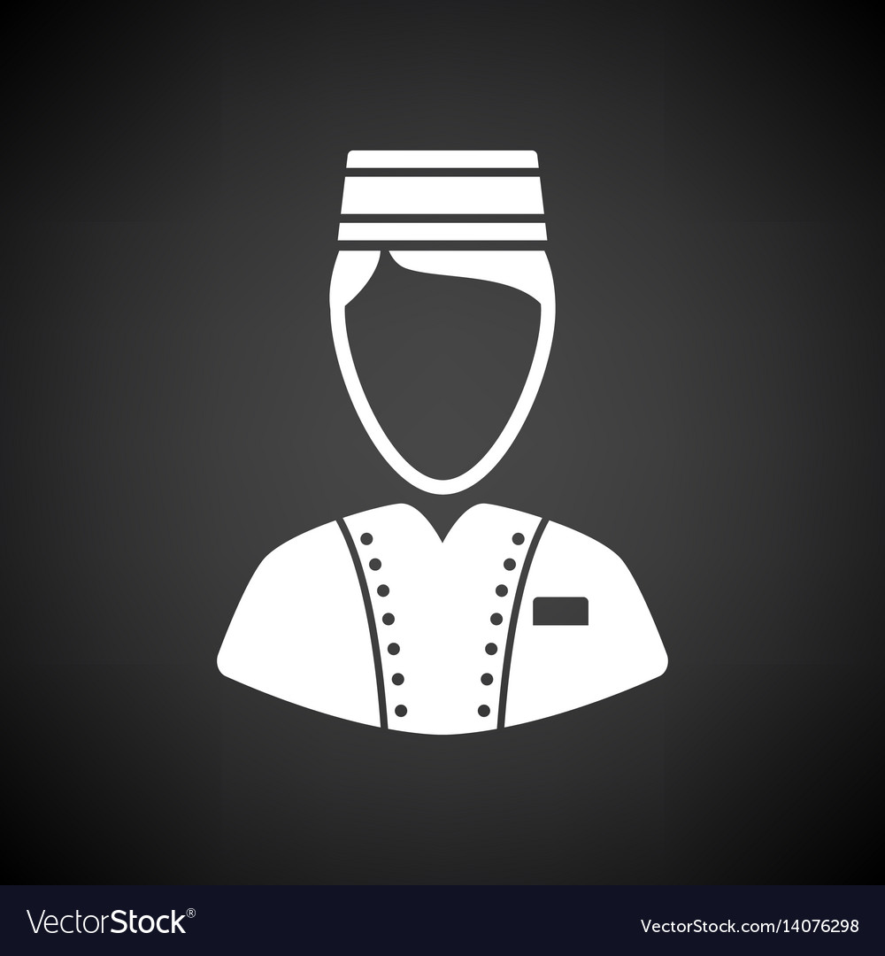 Hotel boy icon vector image