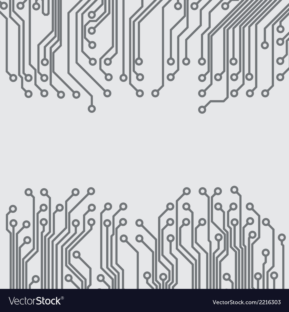 Abstract Background With A Circuit Board Texture Vector Image Textures Pinterest