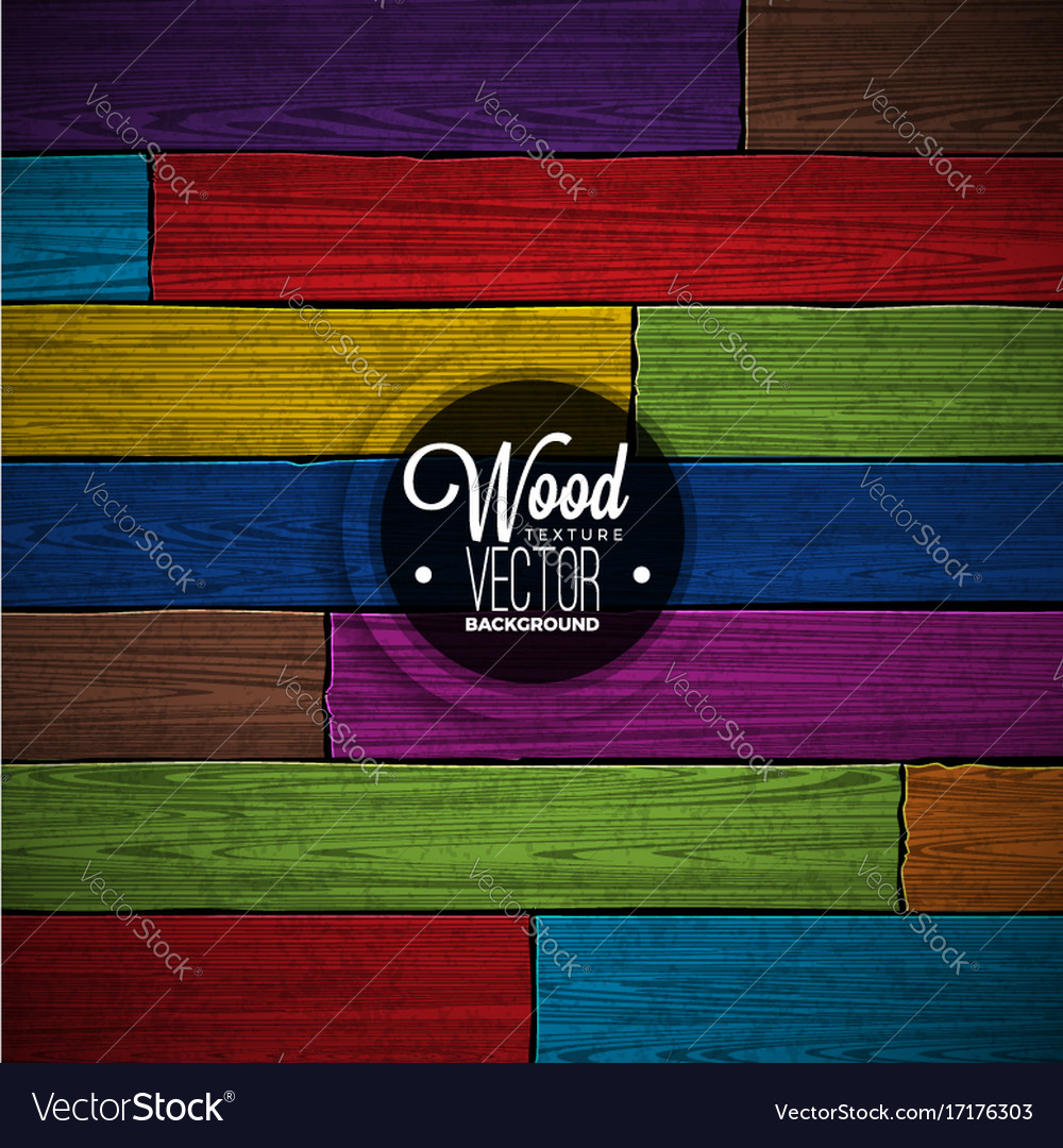 Color painted wood texture background design