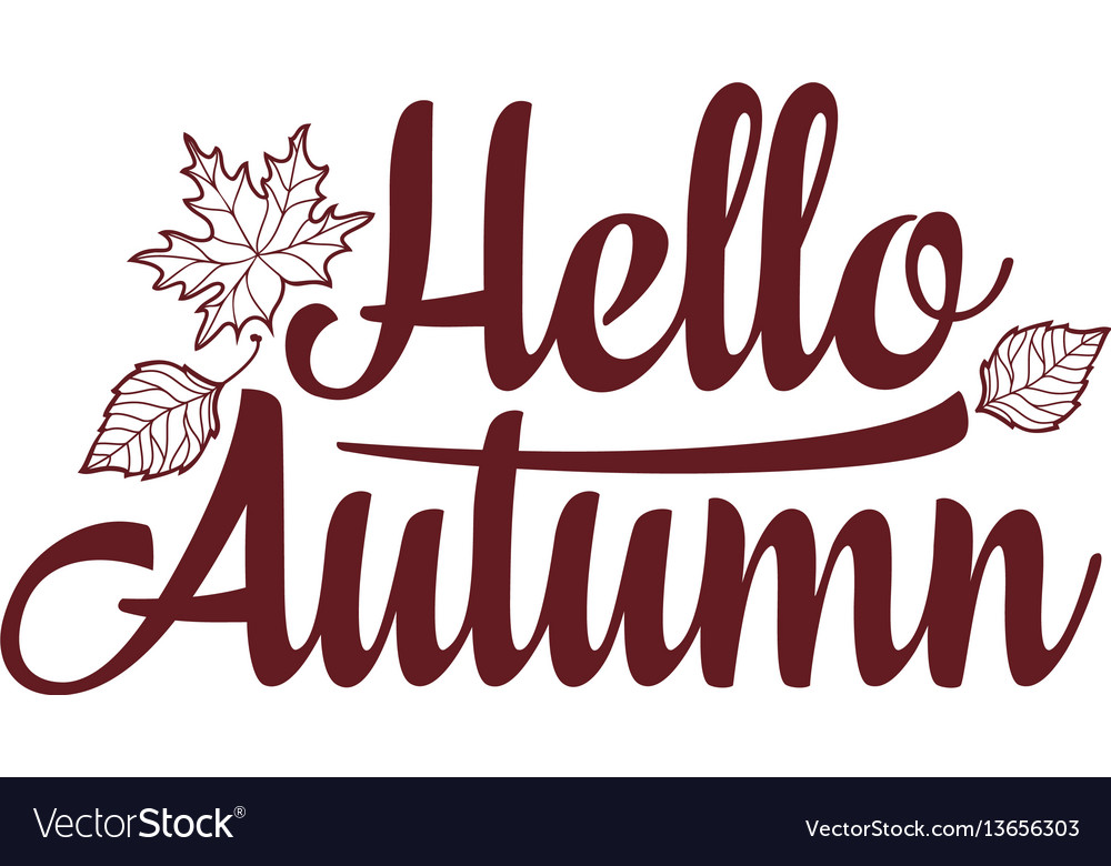 Hello autumn text retail message best for sale