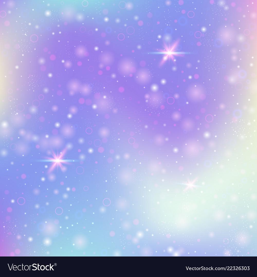 Valentine background with pink glitter hearts