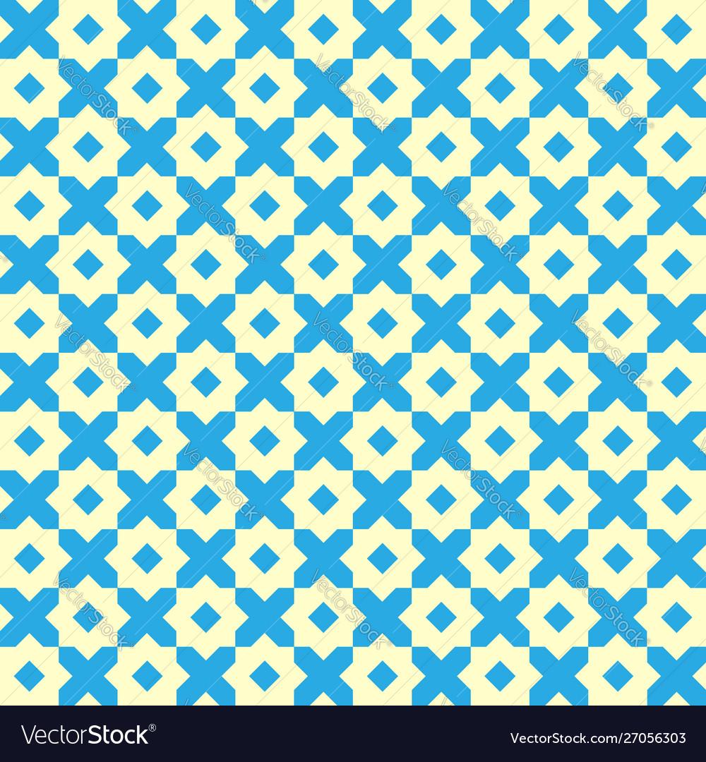 Vintage geometric seamless pattern retro