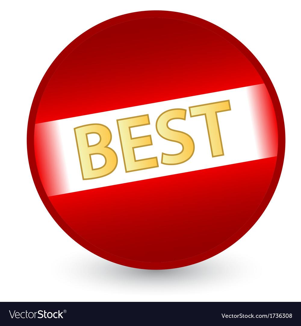 Best red label vector image