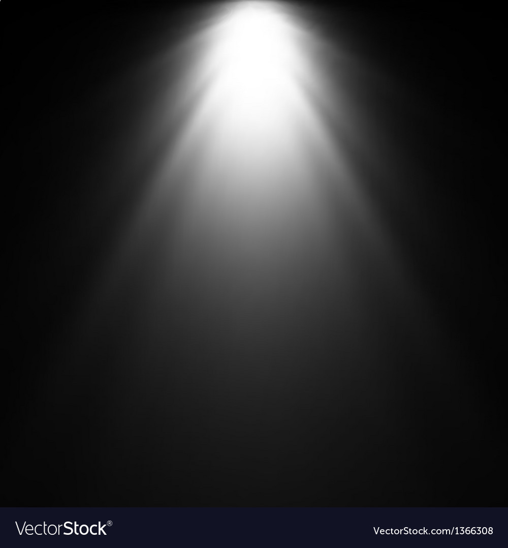 Light Beam From Projector Royalty Free Vector Image