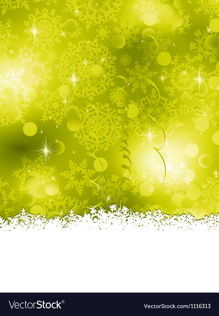 Green Christmas Background EPS 8