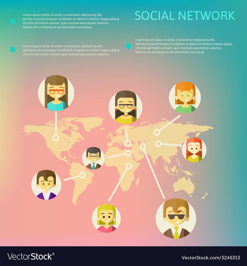 Social Media Circles Network
