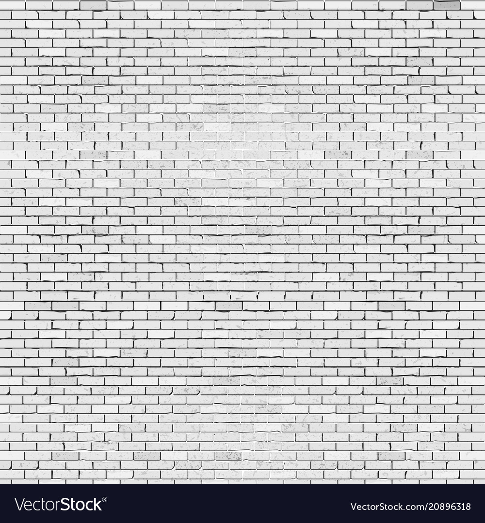 A realistic brick wall vector image