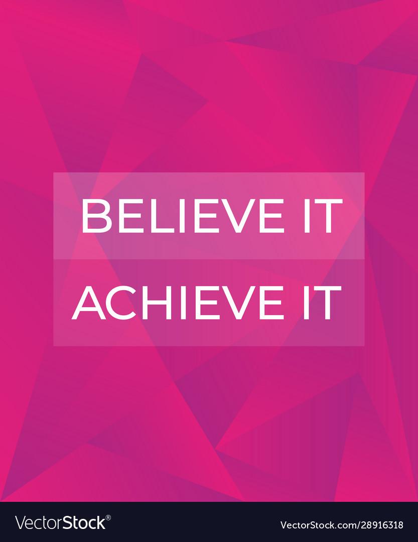 believe it to achieve it pdf free download