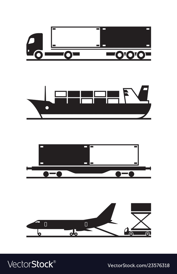 Transportation of cargo containers