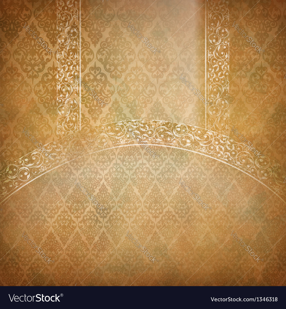 Vintage lace banner