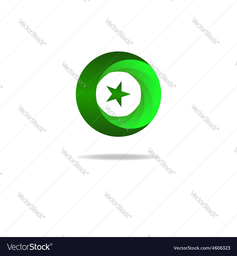 Islam Symbol Star And Crescent Muslim Sign Vector Image