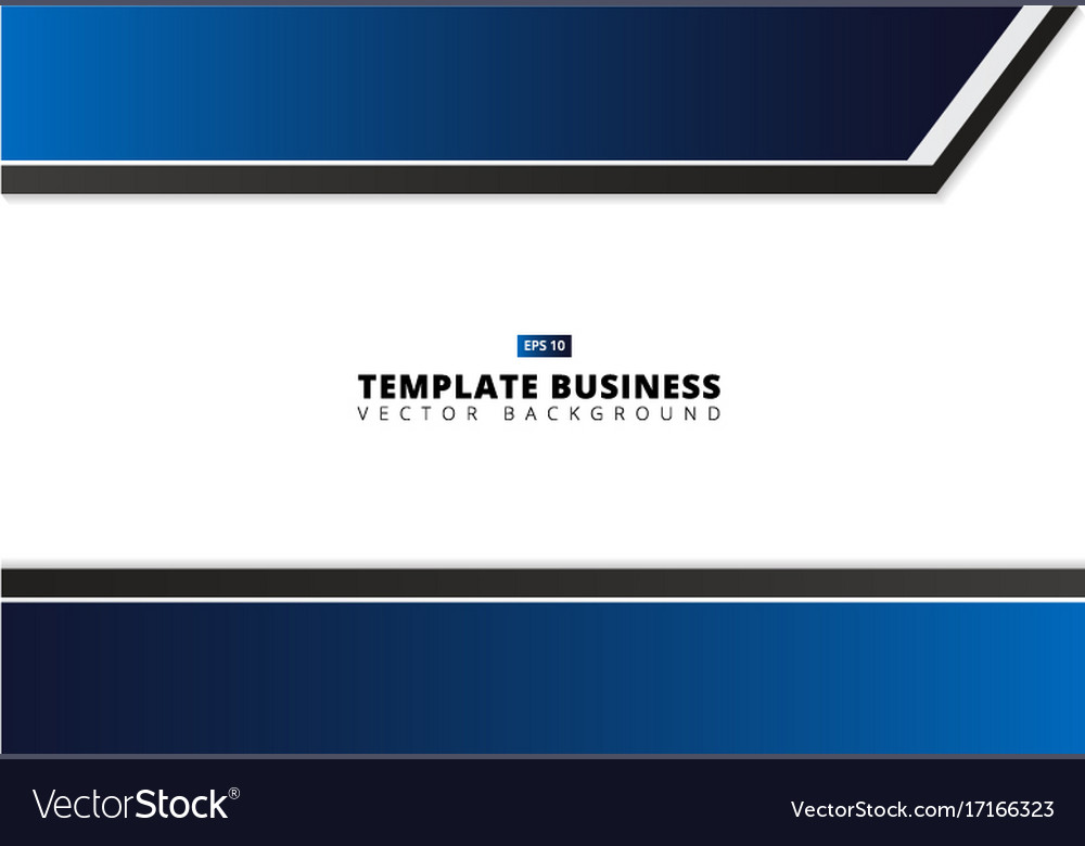 Professional business flyer template or corporate