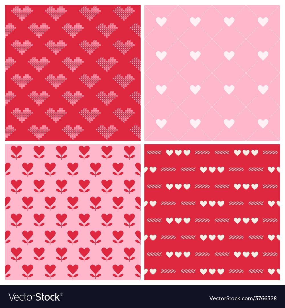 Valentines Day Heart Patterns