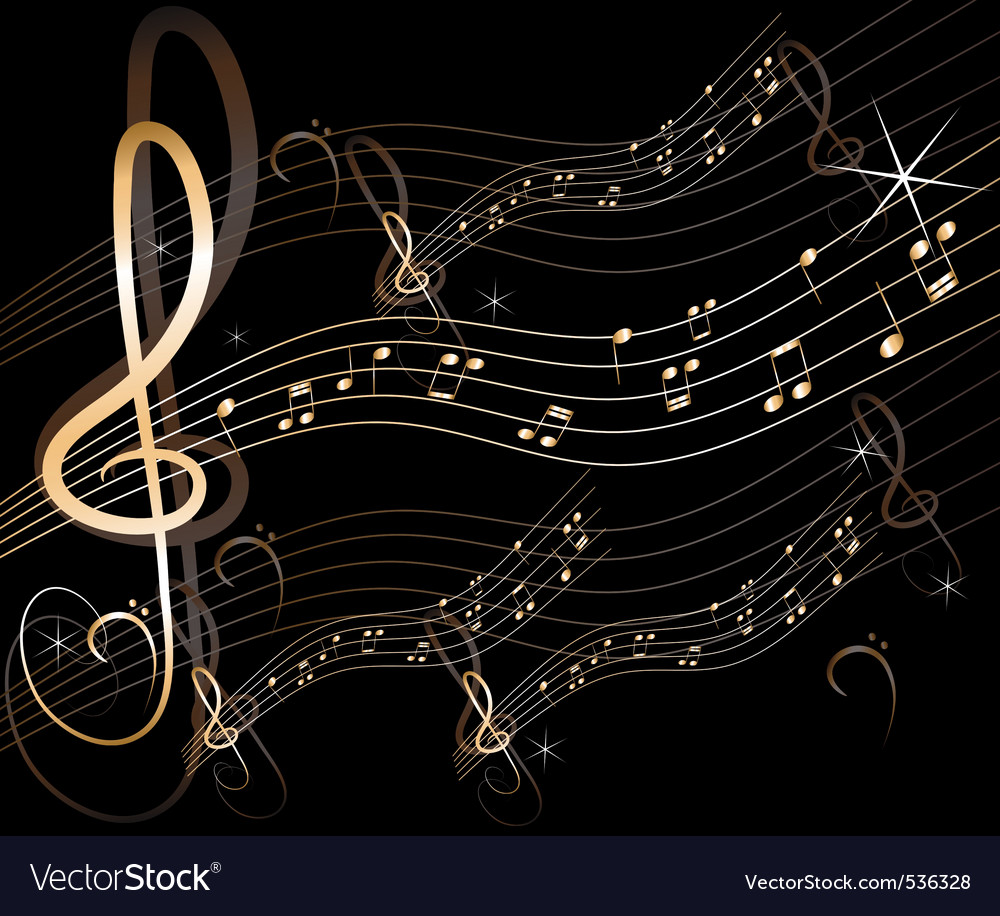music background vector. Abstract Music Background