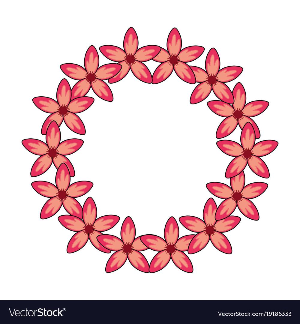 Beautiful tropical flowers design royalty free vector image beautiful tropical flowers design vector image izmirmasajfo