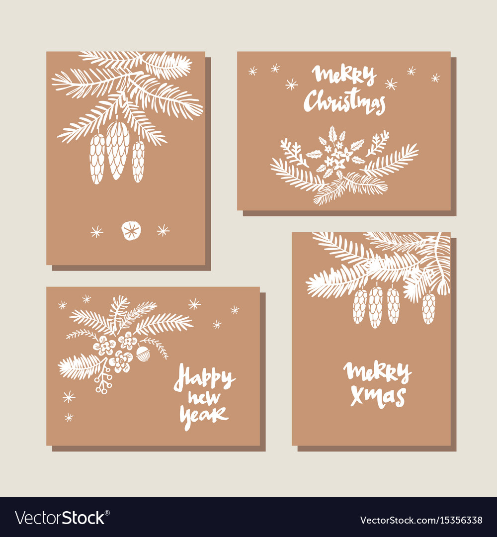 Set of christmas cards15