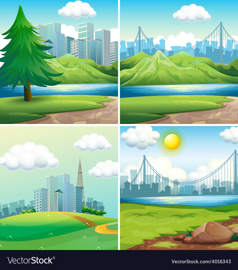 Cities and parks