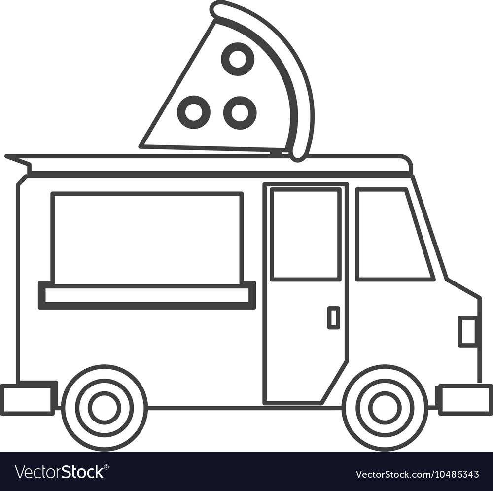 Food truck delivery design