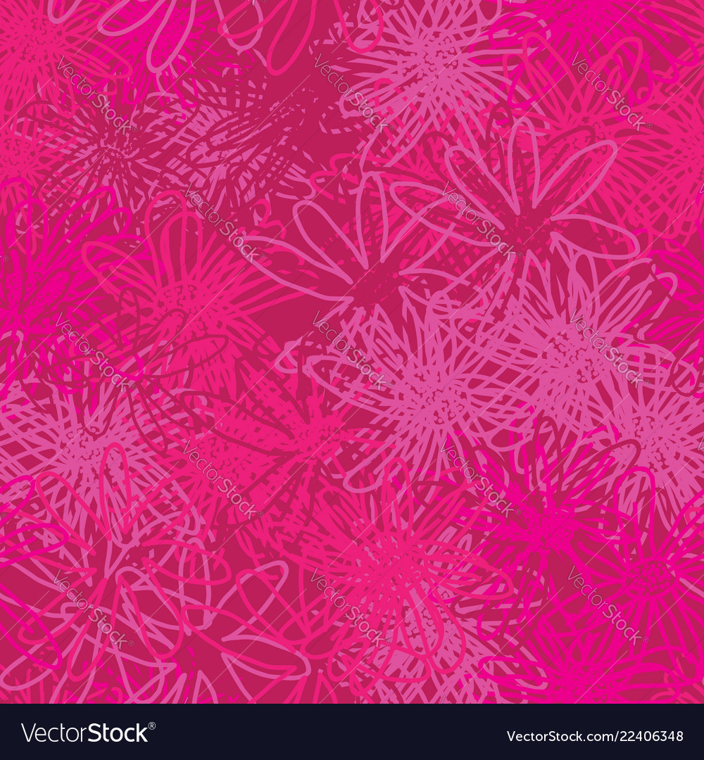 Abstract pink flowers-monochromatic flowers