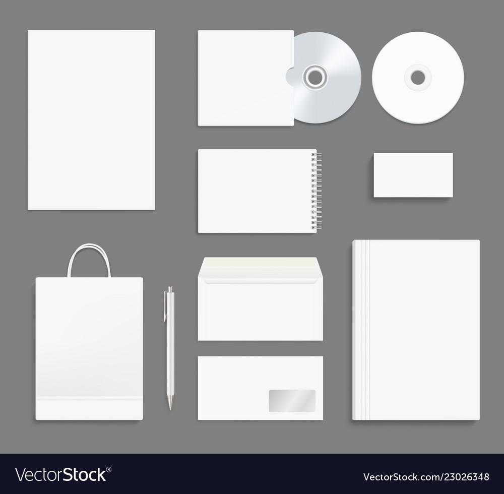 Business identity stationary office branding