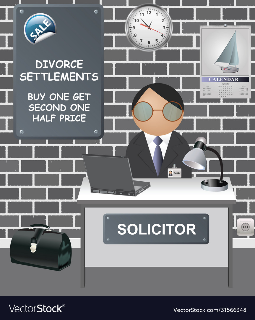 Comical solicitors office
