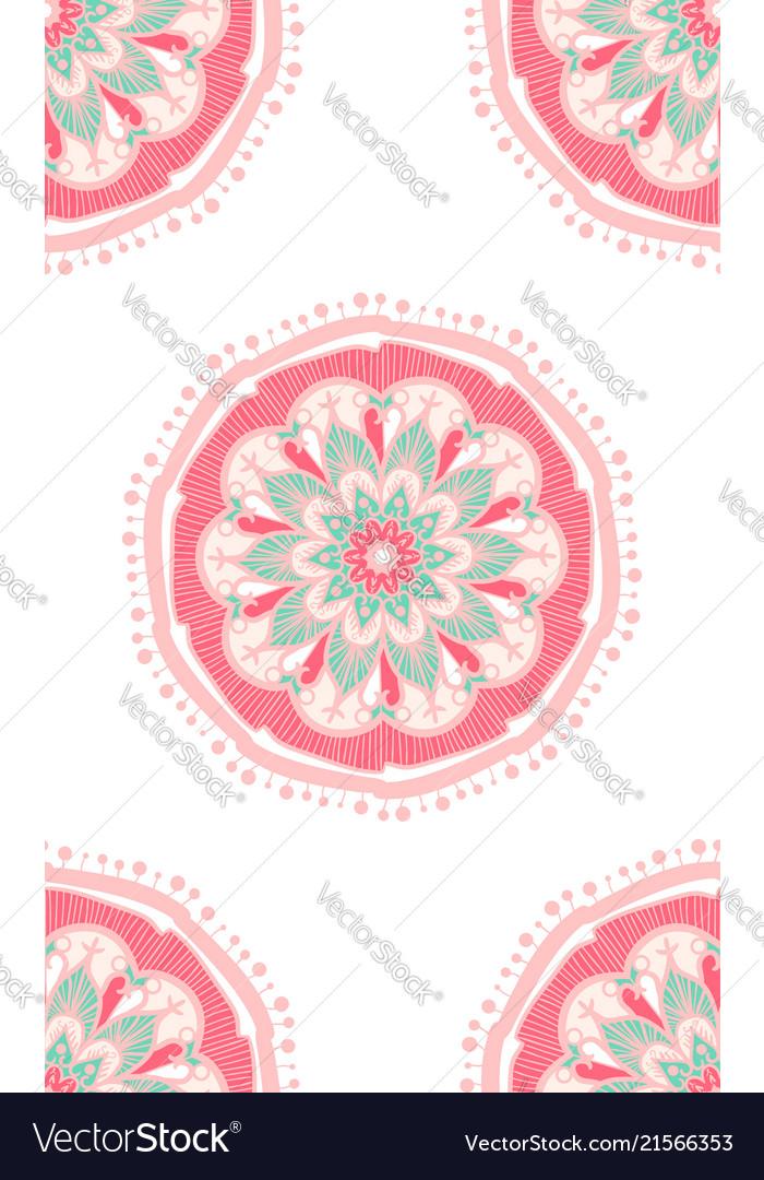 Ethnic boho seamless pattern