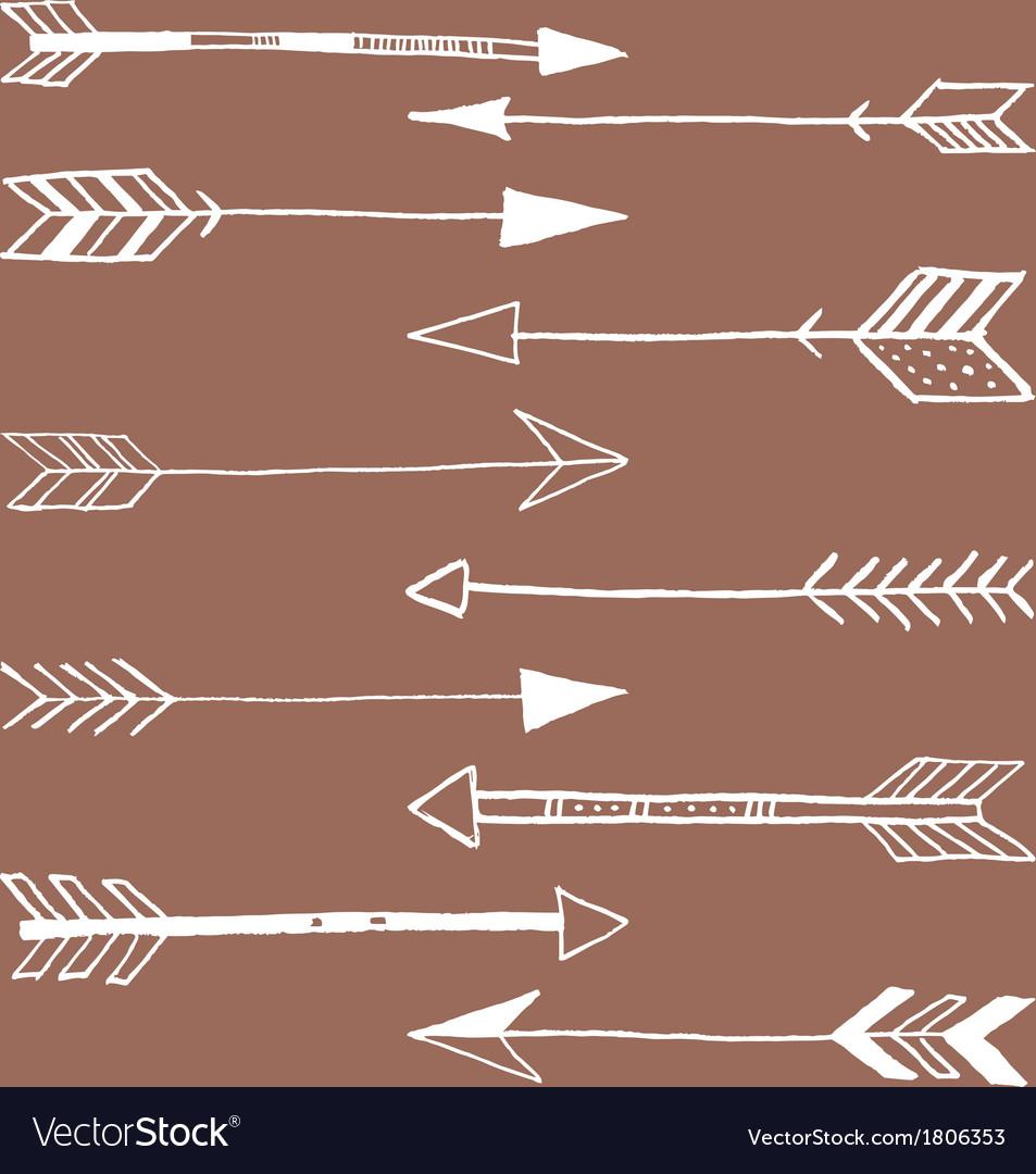 Tribal Arrows Doodle