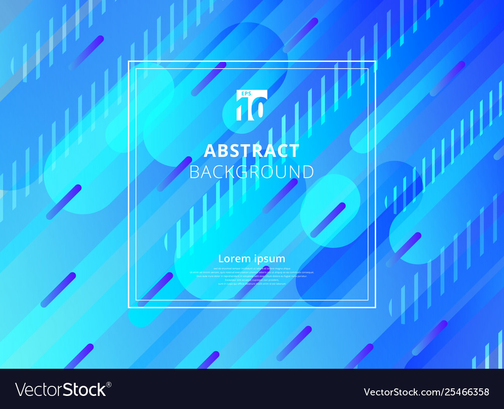 Abstract blue background geometric dynamic