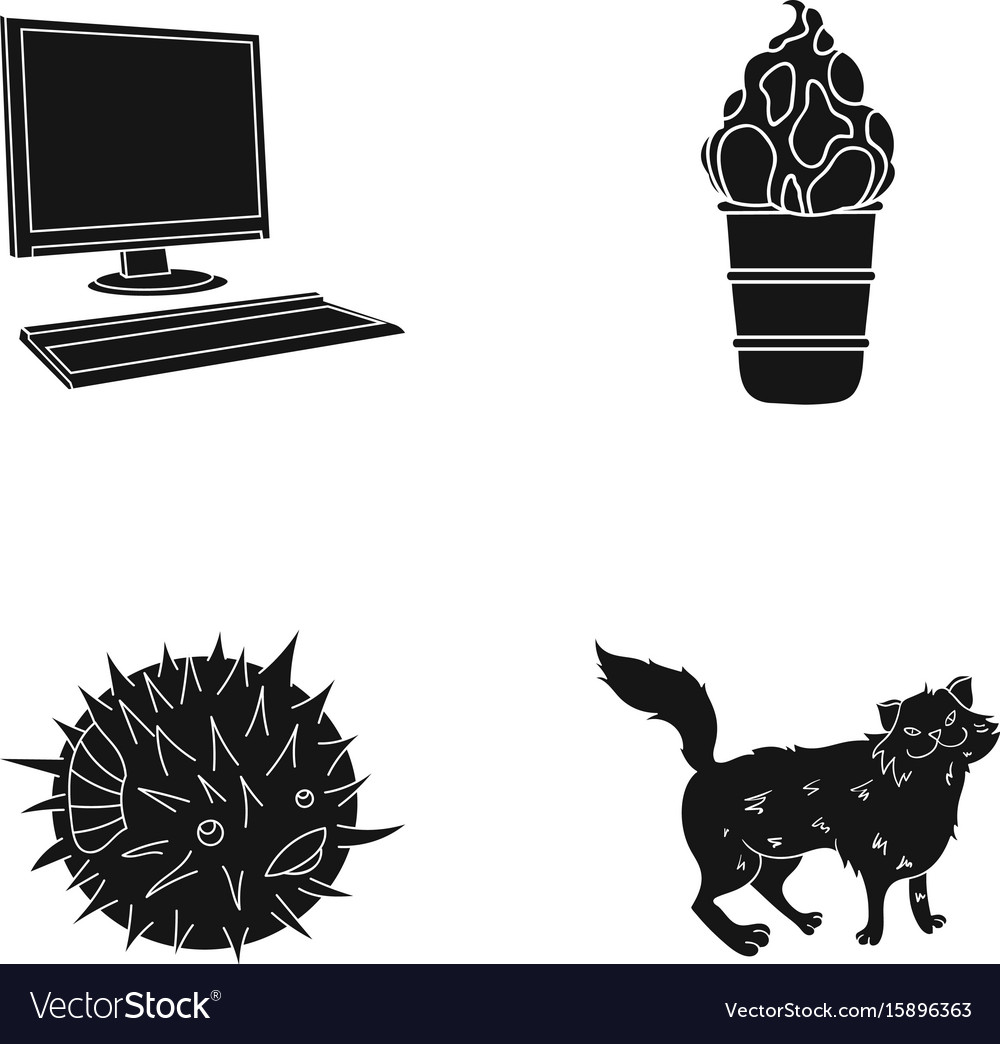 Wool care cafe and other web icon in black style vector image