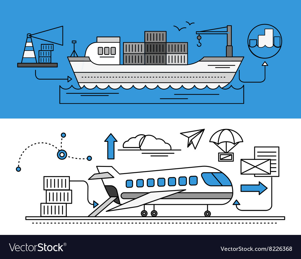 Freight Forwarding by Sea and Air