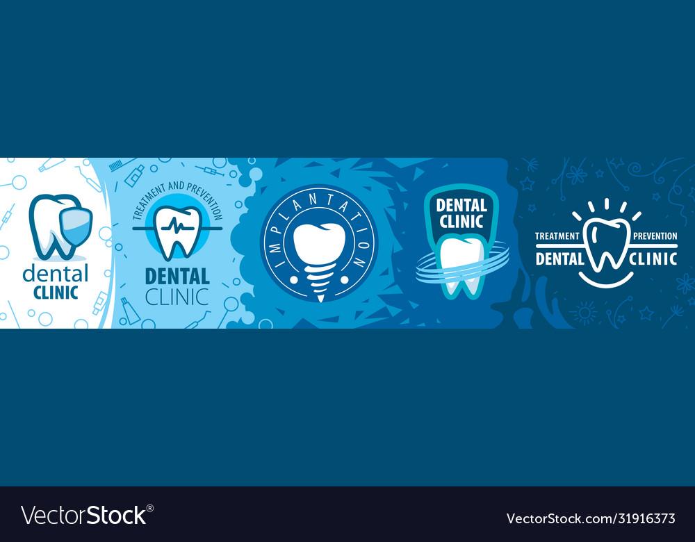 A set tooth logos