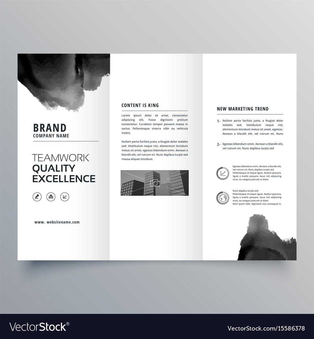 tri fold brochure design templates