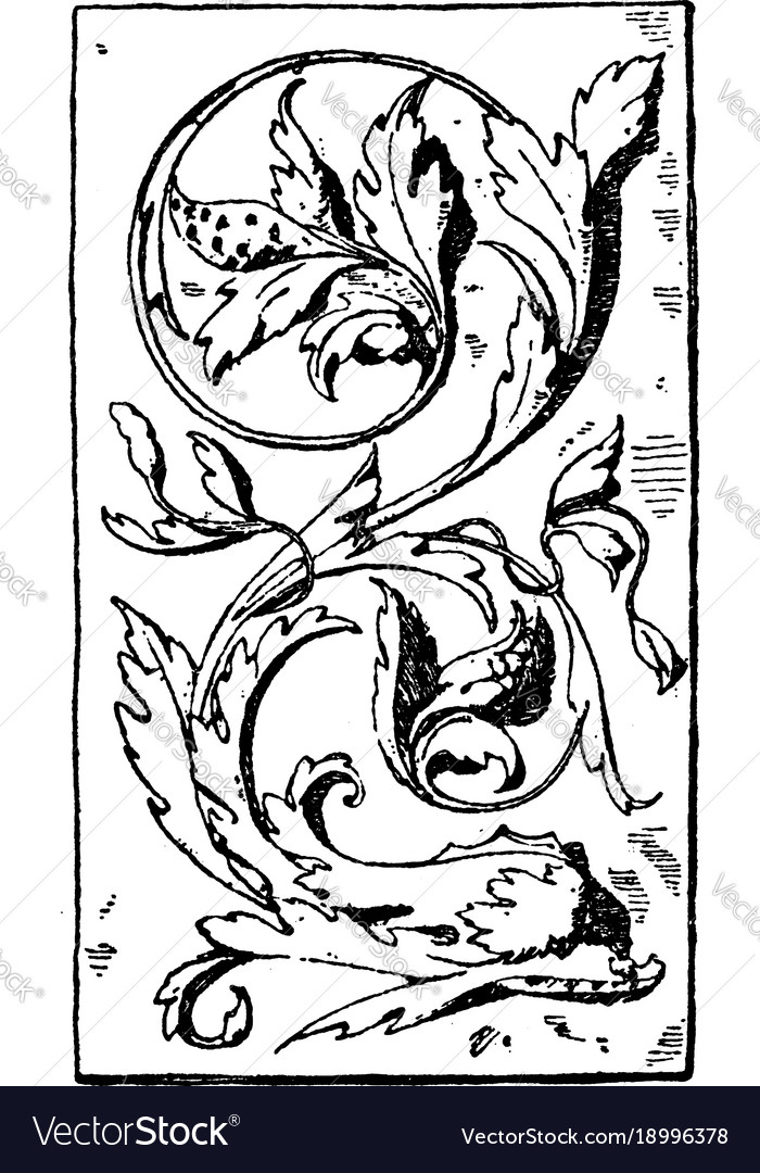 Dolphin panel was designed during the venetian