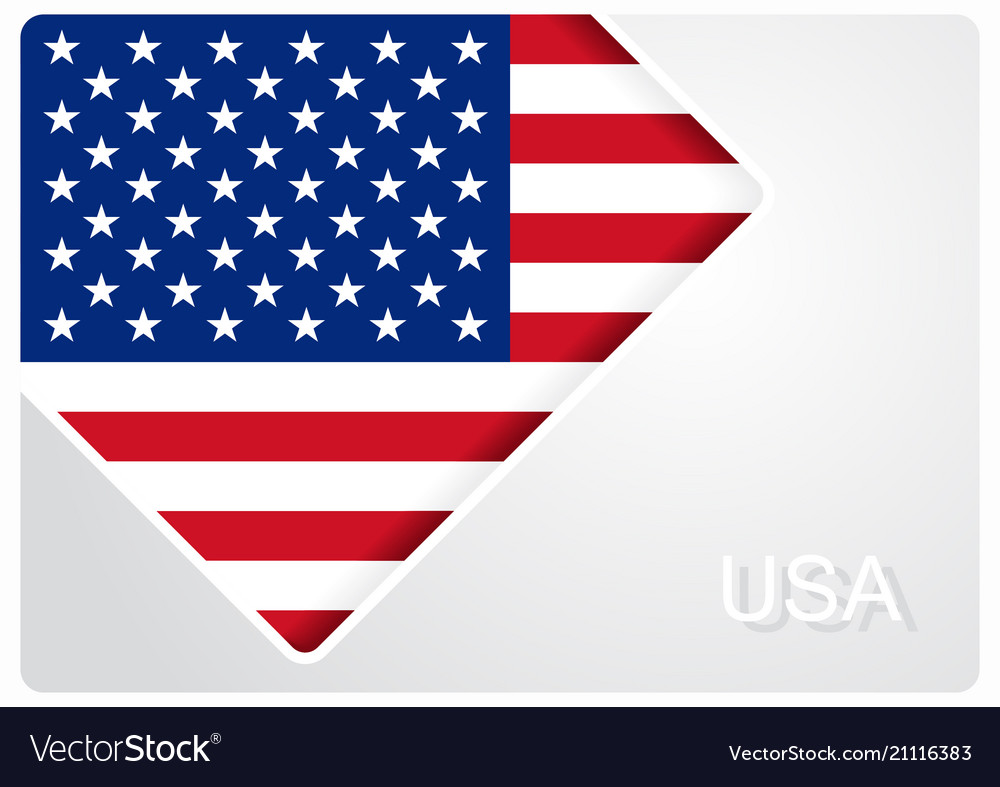 american flag design background royalty free vector image