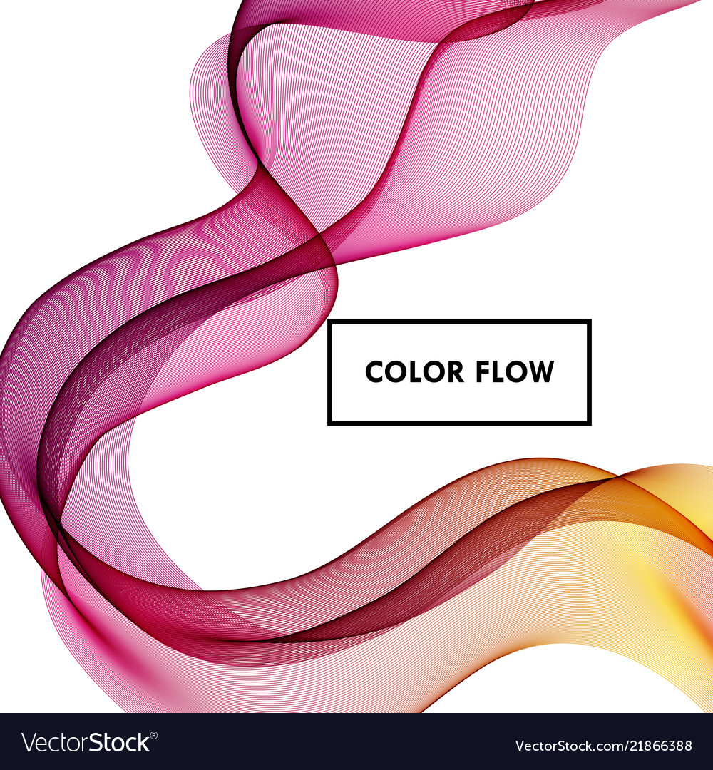 Abstract colorful background color flow