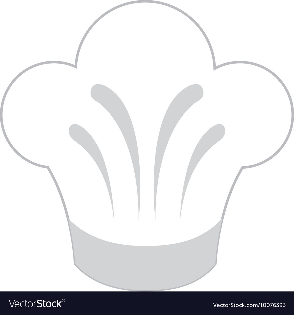 Hat chef uniform icon