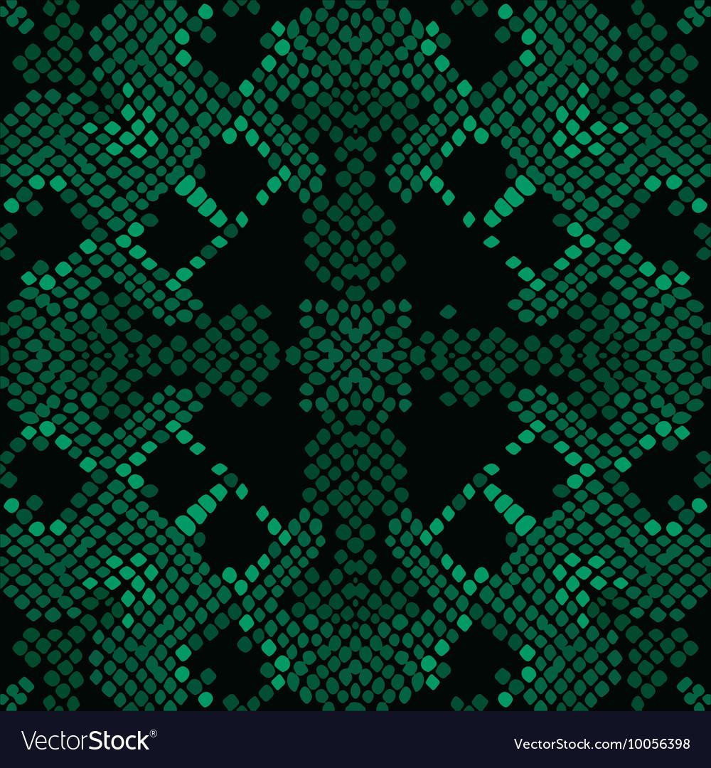 Reptile skin artificial green texture