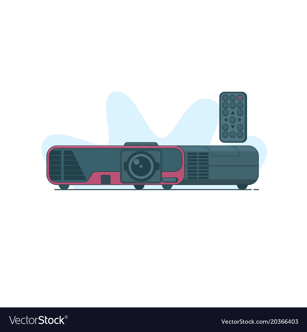 Multimedia projector icon on