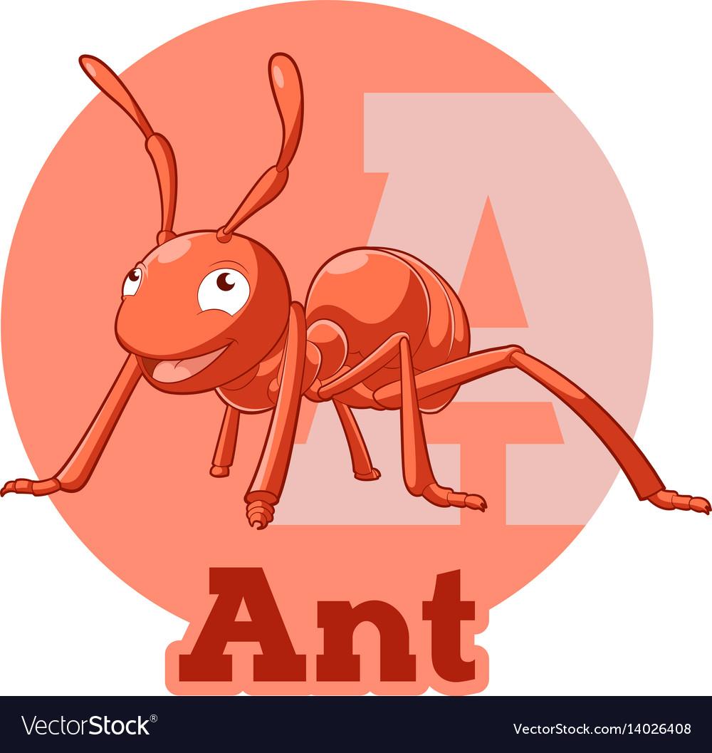 Abc cartoon ant