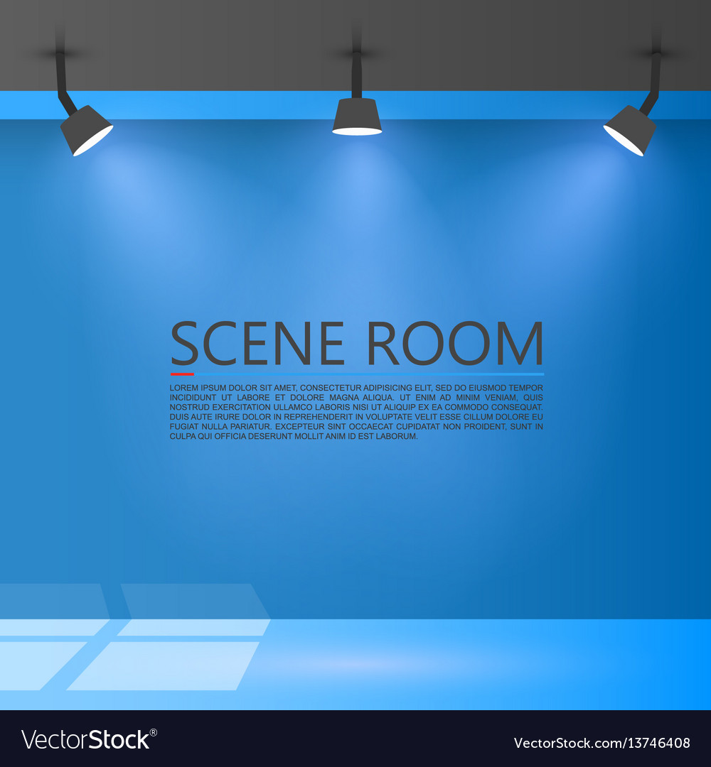 Room with a light source