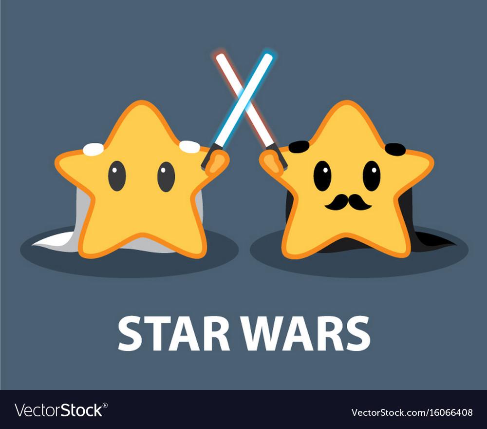 Star wars vector image